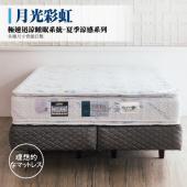 乳膠獨立筒床墊-極速涼爽棉|月光彩虹 極速迅涼睡眠系統-夏季涼感系列