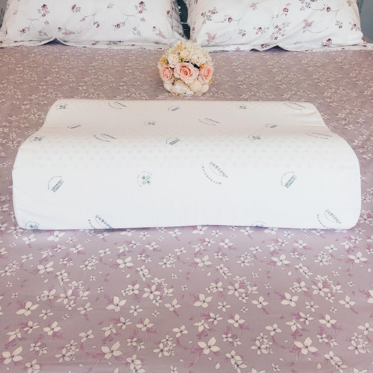 乳膠枕系列|護頸防螨弧度乳膠枕(單顆)