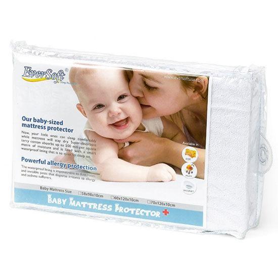 NG福利品|70*126*10cm保潔墊-嬰兒床專用│美國 Ever Soft 嬰兒床保潔墊