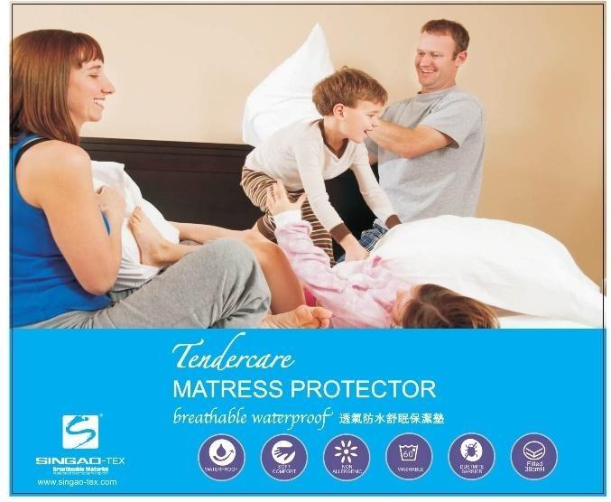 NG福利品|5*6.2保潔墊-透氣舒眠款│Tendercare透氣防水舒眠保潔墊