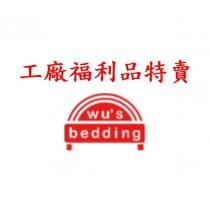 福利品特賣|涼感乳膠獨立筒床墊 (加大單人床)