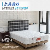 獨立筒床墊-日本100%極凍紗|奈菲莉亞 (加大雙人床墊)